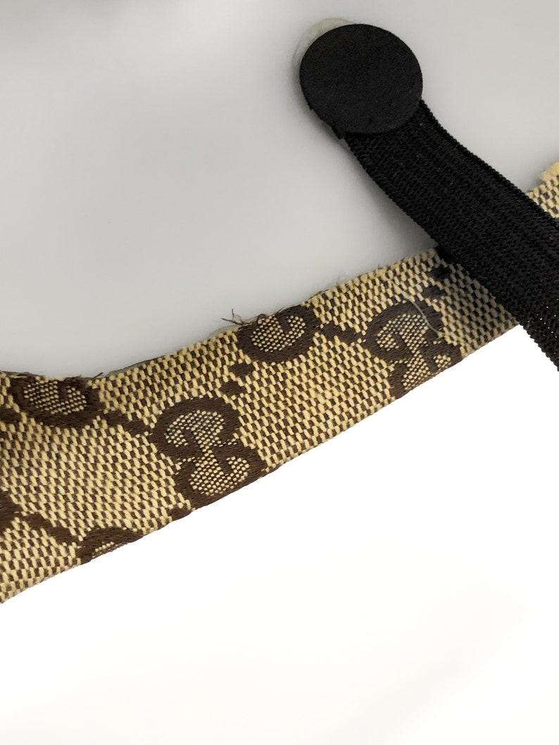 d552619c14ce0 Gucci Head Face Mask Handmade Custom Made From Vintage Monogram Bag