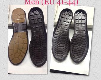 40524368a3f22c Men flat Rubber Outdoor soles for DIY shoes