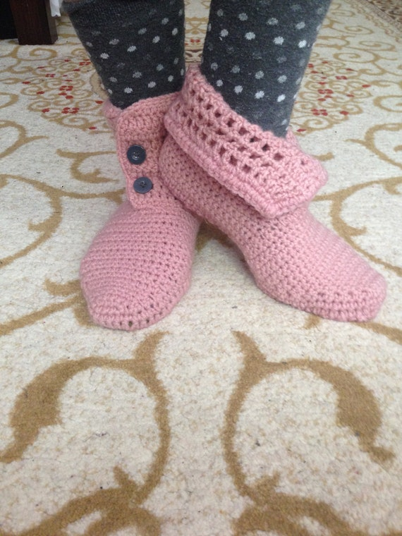 Home Gift Booties Gift Boots Her for Handmade for Slippers House Indoor Slipper Slippers Shoes Crochet Her Gift Shoes Crochet HIvaqx