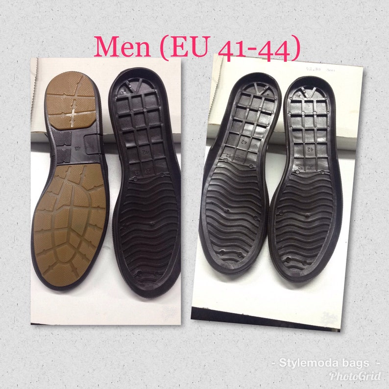 0f5ae6a3f9b9b Men flat Rubber Outdoor soles for DIY shoes, Men soles for winter, Rubber  Men sole for leather , men outdoor rubber sole, lightweight