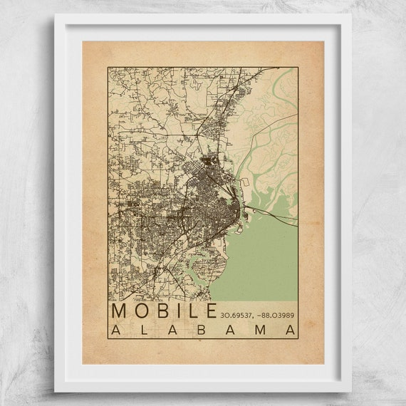 Mobile Alabama City Map Print Poster Antique Vintage Aged Mobile Bay on texas map, usa map, mobile iowa map, mobile county map, poplarville mississippi map, huntsville area zip code map, mobile virginia map, mobile al, city of opp al map, glendale arizona on a map, san antonio map, charleston south carolina map, santa ana california on a map, lansing michigan on the map, ala city map, buffalo new york on the map, little rock arkansas map, mobile co map, mobile orange beach map, kansas city missouri map,