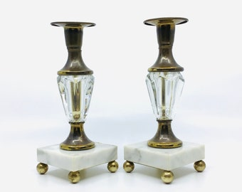 Antique  Vintage Rare Large Heavy Italian Florentine Brass And Marble Lamp  Table Lamp 36 Tall With Finale