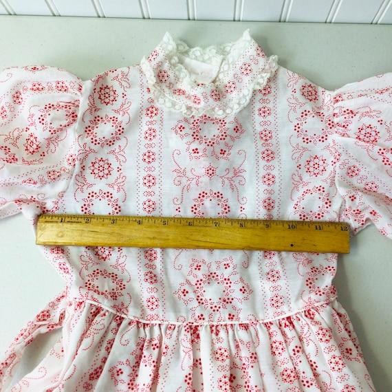 Vintage 70s Girls Prairie Dress Gunne Sax Style R… - image 9