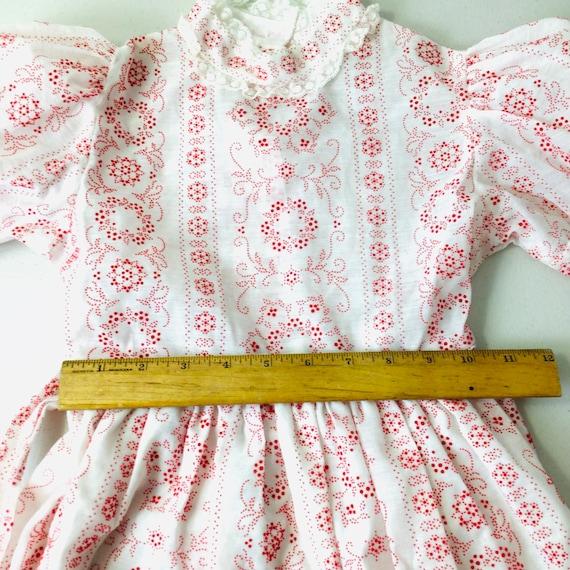 Vintage 70s Girls Prairie Dress Gunne Sax Style R… - image 8
