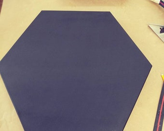 Hexagon Chalkboard