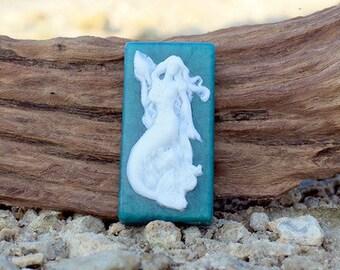 Mermaid Soap IV- Mermaid Soap - The Mermaid's Kiss - Siren Soap - Sea Goddess Soap - Beach Soap - Ocean Soap - Soap For Her - Handmade Soap