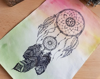 Zen art dream catcher