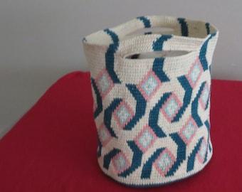 Handmade Crochet Market Bag, Grocery Bag, Produce Bag, Travel Bag, Gift Idea, Beach Bag, Book Bag, Hobby Container