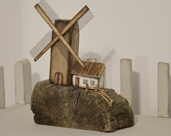 Wooden Houses Driftwood Houses Wood Gift Natural Home Decor Rustic Home  Handmade Gift Driftwood Art Driftwood Cottage Reclaimed Wood