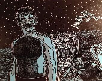 Tom Selleck and Burt Reynolds - Aquarius (2013)