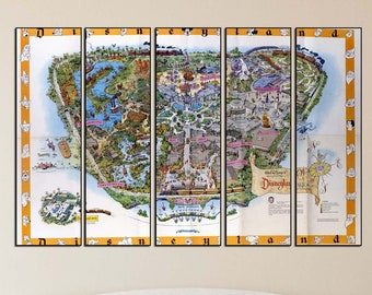 image about Printable Disney Park Maps identified as Disney entire world typical map Etsy