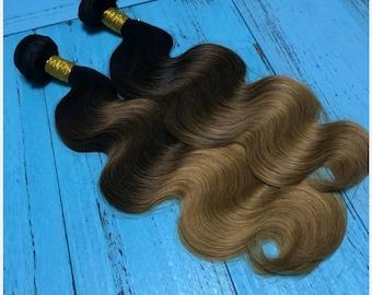 Divinely DBT Royal Hair 100% Human Hair 3 Straight 1b 27 Ombre 3 7 Bundles  Deal d2c9545637c