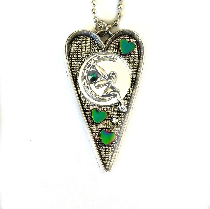 Mirrored Fairy Energy Protection Necklace