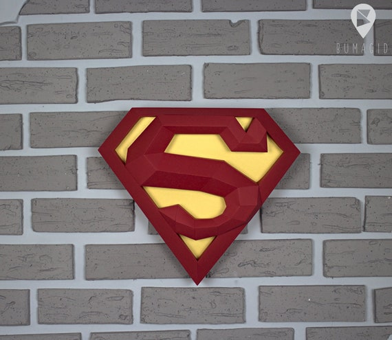 Superman 3D Origami | Pekeño ♥ - YouTube | 495x570