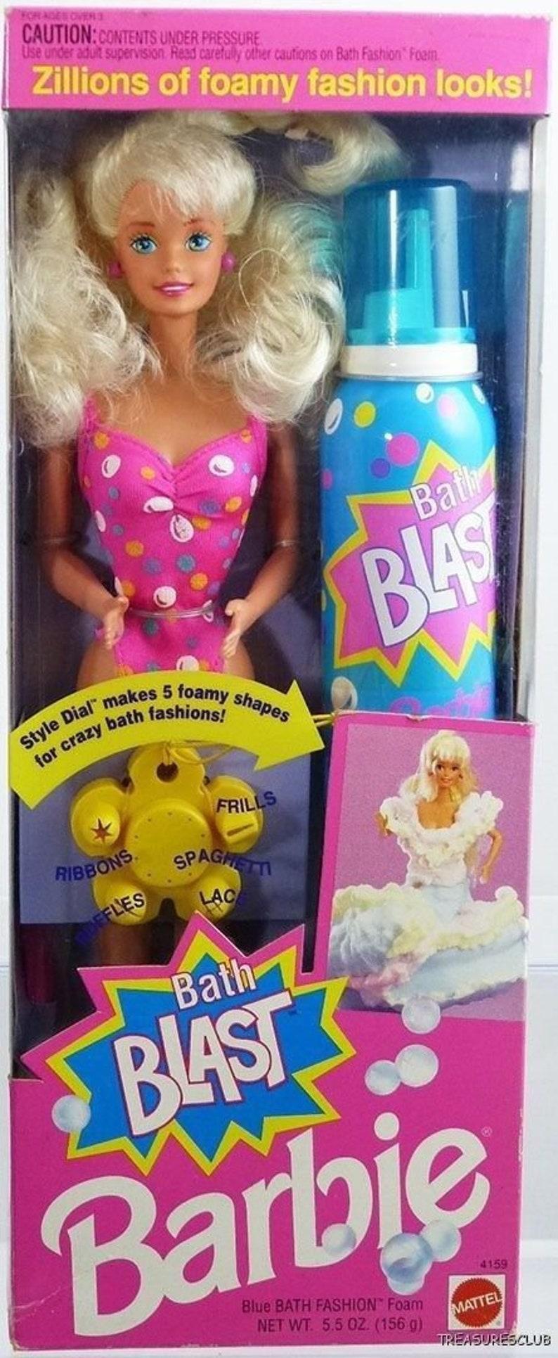 Salle de bain Blast Barbie Doll Vintage Barbie 1992 | Etsy