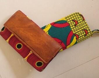 Ankara Print Clutch Bag/ Purse