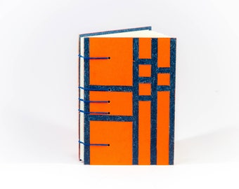 Art deco style notebook.