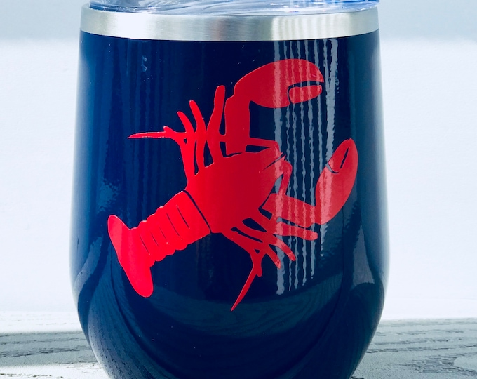 Lobster Wine Tumbler