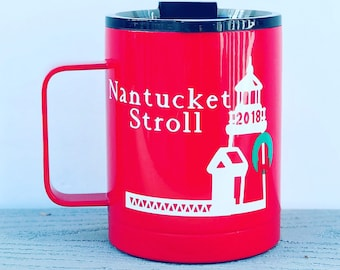 Nantucket Christmas Stroll Mug