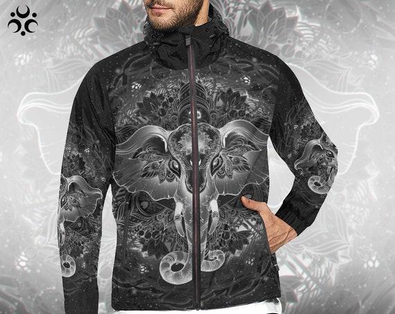 SACRED ELEPHANT Windbreaker Jacket
