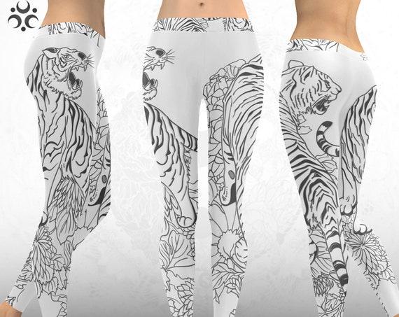 SACRED TIGER Leggings