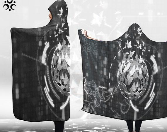 POSITRON BOMB Hooded Blanket