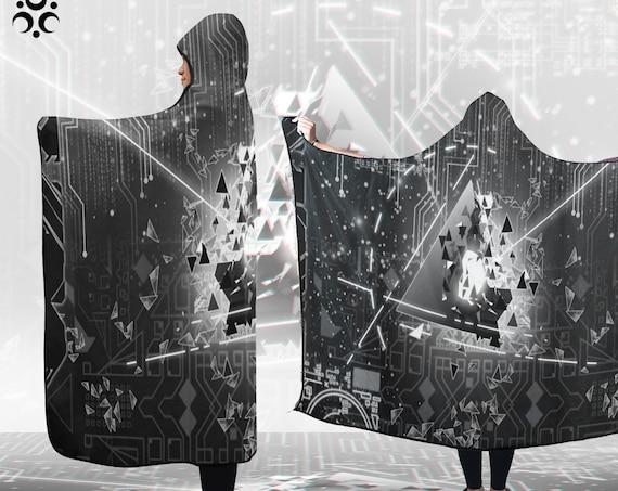 PSYBEAM Hooded Blanket