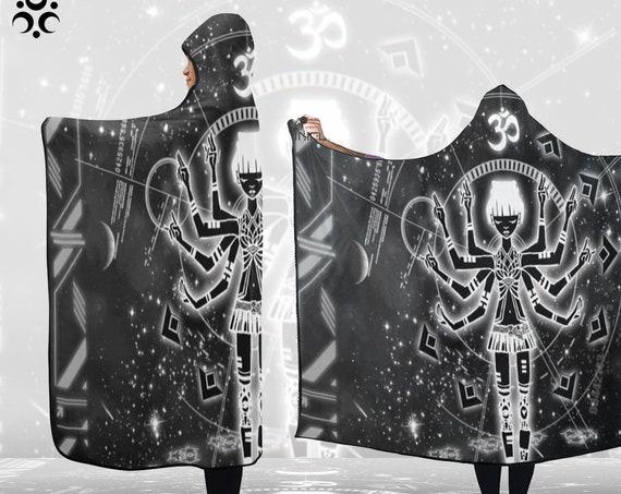 ETERNAL OM Hooded Blanket