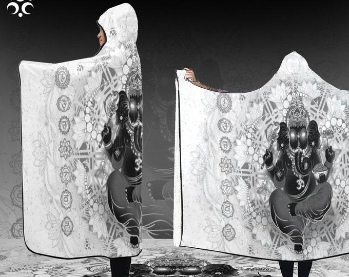 Featured listing image: GANESHA Hooded Blanket