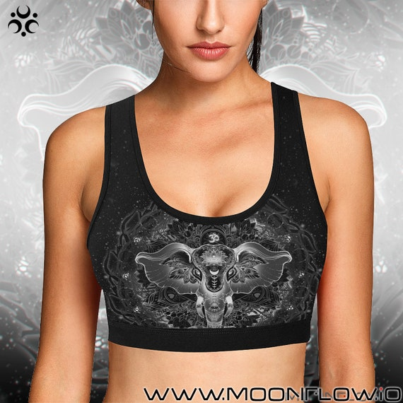 SACRED ELEPHANT Sports Bra
