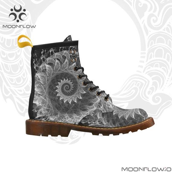 KRYSTAL SPIRAL Martins Boots