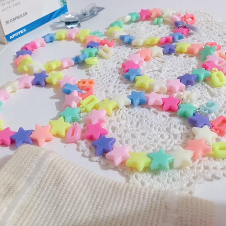 Yami Kawaii Fairy Kei Stretchy Cute Jewellery Ouch Pastel Menhera Bracelets