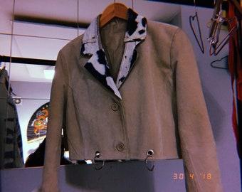 Custom cropped jacket