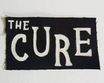 The Cure band patch