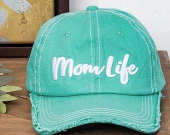 71f11b30ca7bd Mom life hat