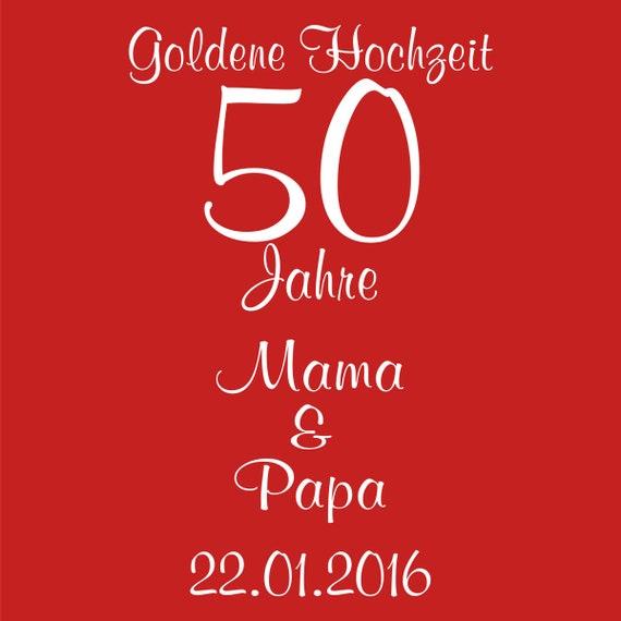 Laterne Goldene Hochzeit Mit Personalisierung