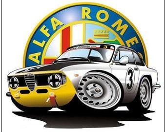 Alfa Romeo Decals Etsy