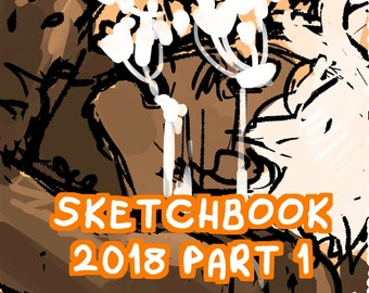 PREORDER 2018 Part 1 SKETCHBOOK ZINE- Original Art Zine