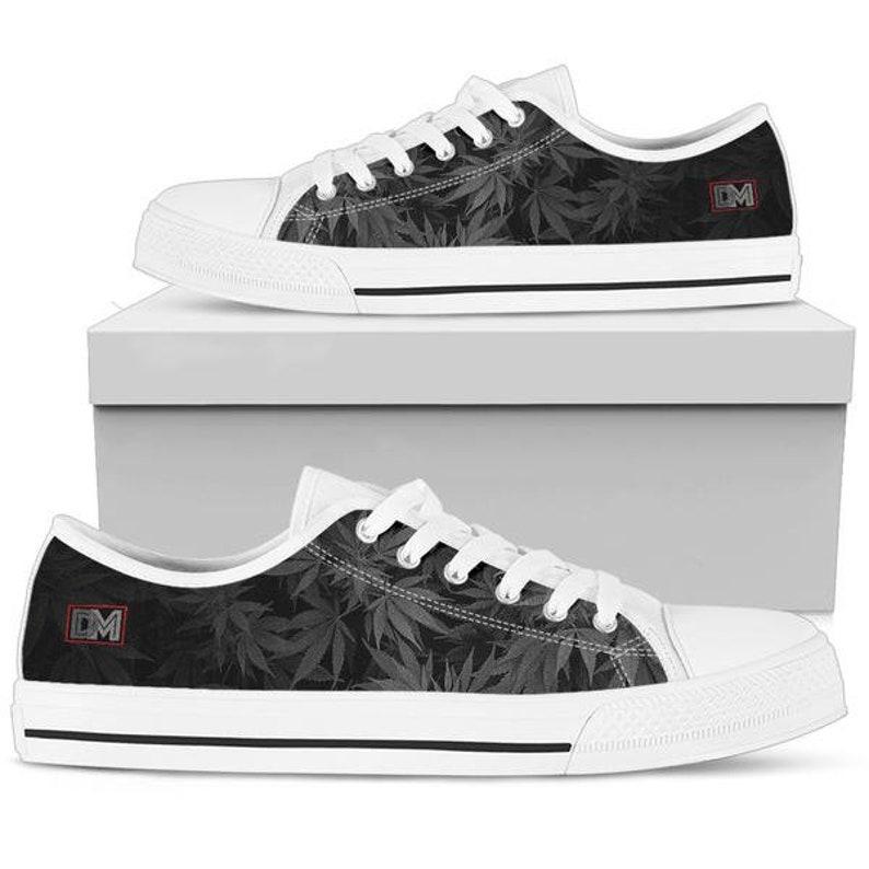 f5f55d7c66131 Dank Master OG Black Signature men's shoes custom cannabis | Etsy