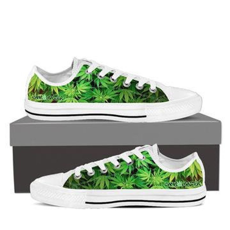 705d6758b5 Dank Master men s shoes custom cannabis design weed leaf