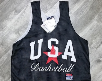 NWT Vintage Champion USA Basketball Dream Team Mesh Jersey size XL