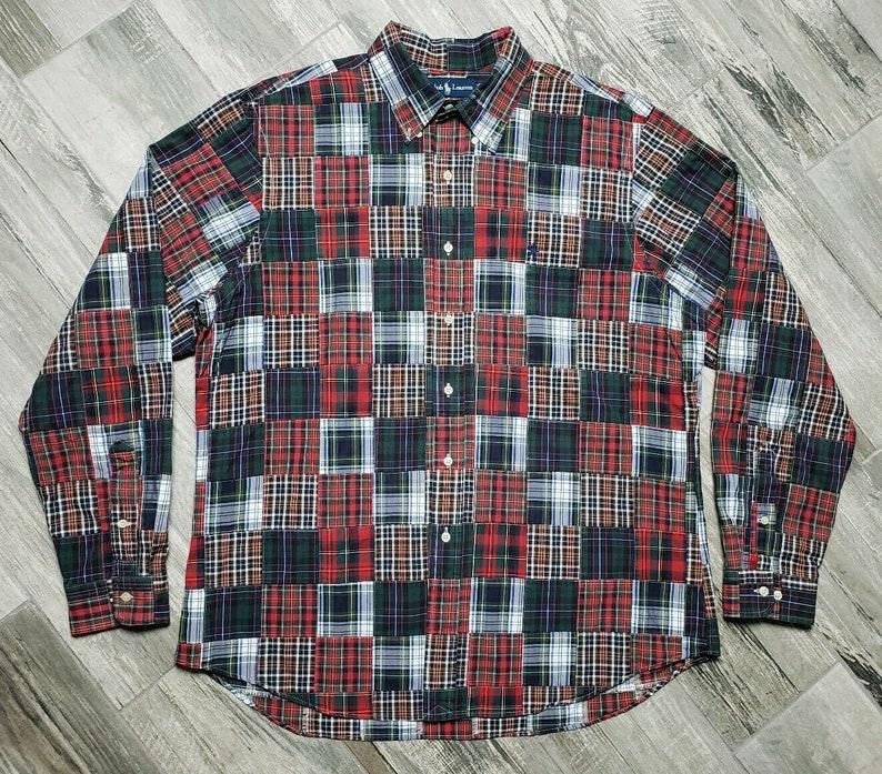 POLO SPORT Ralph Lauren Mens Fleece Plaid and similar items