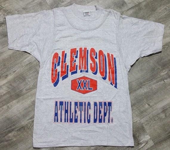 Vintage Clemson Tigers Athletic Dept. Tank Top T-S