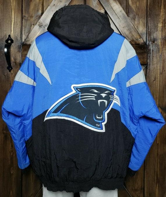 Vintage Carolina Panthers Apex One Hooded Jacket M