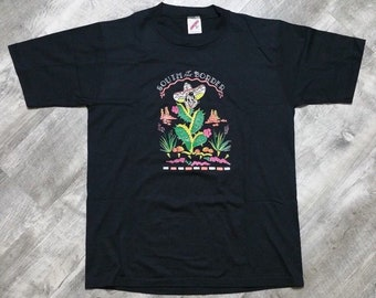 Vintage 80s 90s South of the Border Jerzees T-shirt size Medium
