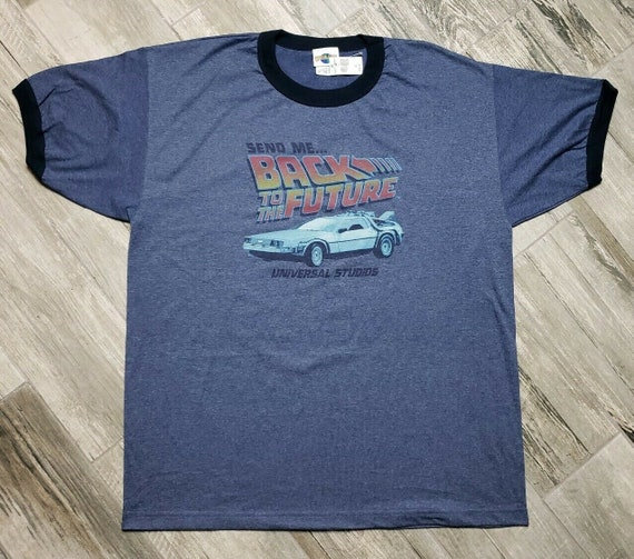 Vintage Back To The Future Universal Studios Ringe