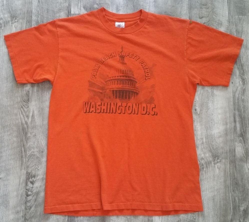 0164647d7 Vintage Palm Beach Washington DC Safety Patrol T-shirt size | Etsy