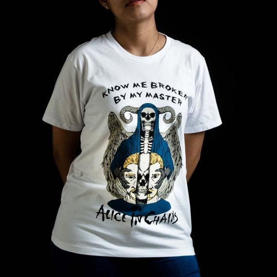 Alice T-Shirt in Chains T-Shirt Alice | Serait | T-Shirt grunge | Layne Staley 6cb4df