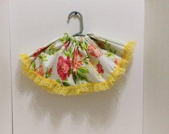 Baby girls floral skirt sz 6 months