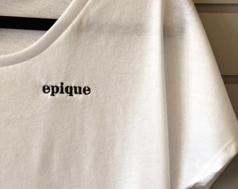 Epique Embroidered Tee